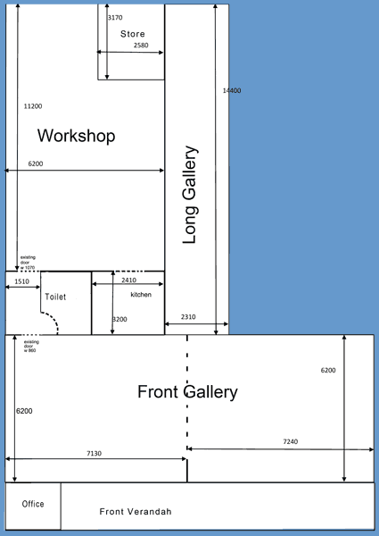 floor plan to scale